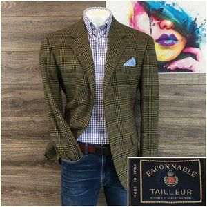 FACONNABLE Men's Sport Coat Blazer 100% Cashmere